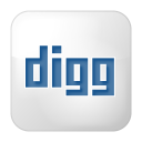 Social-digg-box-white icon