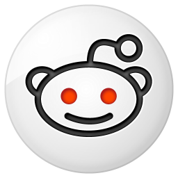 Social reddit button icon