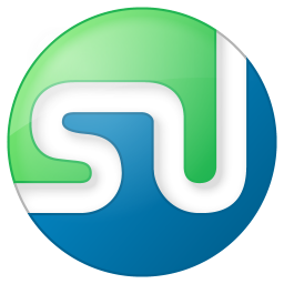 Social stumbleupon button color icon