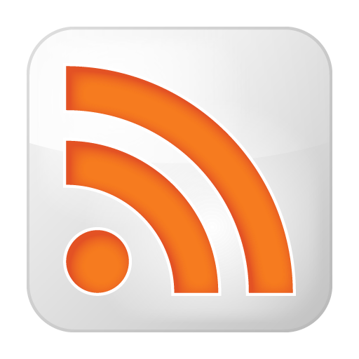 Social-rss-box-white icon