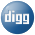 Social-digg-button-blue icon