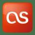 Social-lastfm-box-red icon