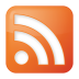 Social-rss-box-orange icon