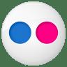 Social-flickr-button icon