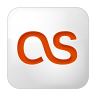 Social-lastfm-box-white icon