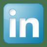 Social-linkedin-box-blue icon