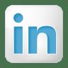 Social-linkedin-box-white icon
