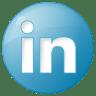 Social-linkedin-button-blue icon