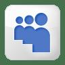 Social-myspace-box-white icon