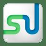 Social-stumbleupon-box-white icon