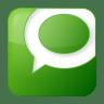 Social-technorati-box-green icon