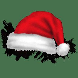 Santa hat icon