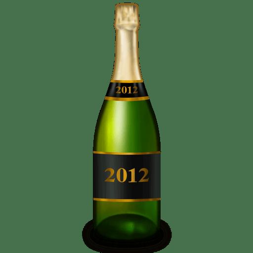 Champagne-bottle icon