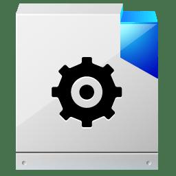 Document configuration settings icon