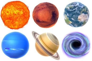 Bumpy Planets Icons