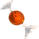 Bonbon orange icon