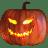 Pumpkin evil icon