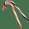 Cane-orange-black icon