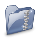 Folder-Dossier-Zip-SZ icon