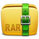 Folder Archive rar icon
