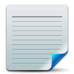 Document txt icon