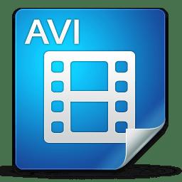 Filetype avi icon