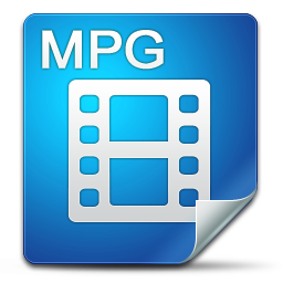 Filetype mpg icon