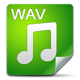 Filetype wav icon