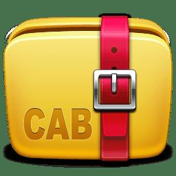 Folder Archive cab icon