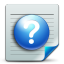 Document-help icon