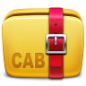 Folder-Archive-cab icon