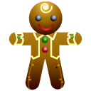 Ginger man icon