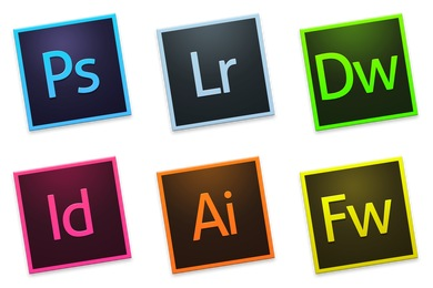 Adobe CC Tilt Icons