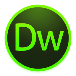 Adobe Dreamweaver Icon Yosemite Adobe Cc Dark Iconset Ziggy19