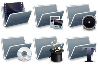 Digital Video Techniques Icons